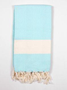 cotton turkey hammam towel nordic aquamarine