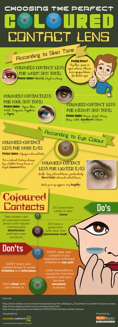 Giving your eyes a unique look by using cosmetic lenses has become a fashion rage today. Coloured Contacts Hut presents an infographic on 'Choosing The Perfect Coloured Contact Lens' which is a mini guide about buying coloured lenses.