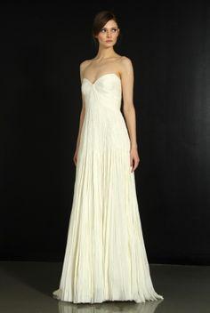 J. Mendel Wedding Dress Style J. Mendel wedding dress, Fall 2012- 7   OneWed