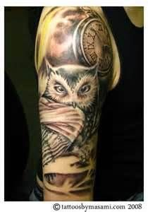 Tattoos  Pennsylvania Page 29 Owl  Pocket Watch In
