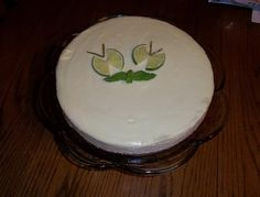 Lime in <3 Cheesecake
