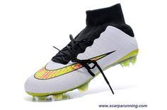 huge discount 0a15f c5665 comprare scarpe online Bianco Nero Nike Mercurial Superfly X FG ACC  acquisti on line scarpe