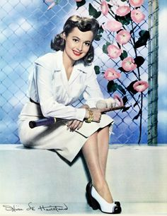 Olivia Mary de Havilland (born July 1, 1916) is a British American actress. She twice won Best Actress for The Heiress and To Each His Own. She was nominated for Hold Back the Dawn and The Snake Pit, and as Best Supporting Actress for Gone With the Wind. Captain Blood, The Adventures of Robin Hood, Princess O'Rourke, A Midsummer Night's Dream, The Male Animal, It's Love I'm After, The Strawberry Blonde.