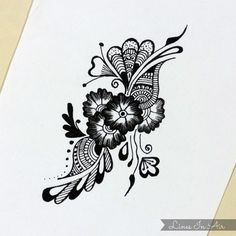 Henna Mehndi Design by LinesInAir on deviantART