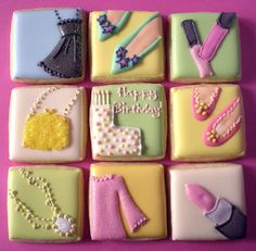 Birthday Girl's cookie gift box 1 | Flickr - Photo Sharing!
