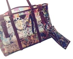 Prada Venice In Acrylic And Leather Tote Bag. Get one of the hottest styles  of 96dc9500bce83