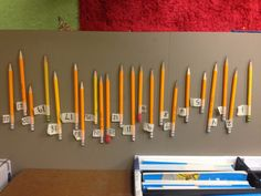 "Disappearing Pencil Woes? - The Organized Classroom Blog I might try something similar with my high schoolers..they are master ""accidental"" pencil stealers!"