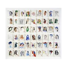 A Pack of Picasso's Women, 2015 Giclee Print by Holly Frean at Art.co.uk