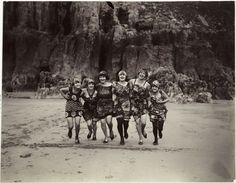 Women running on a beach, c. 1925, National Media Museum Collection / SSPL    A special edition of On This Day to mark International Women's Day 2013.  In the 1920s, women's fashion and social behaviour were revolutionised. Women made choices which scandalised more conservative elements in society.  Greater mobility, independence, economic changes, mass production of clothing, new fabrics and a new spirit all led to greater freedom of expression.  #InternationalWomensDay