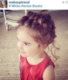 Milkmaid braid for girls