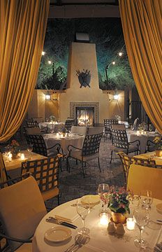 Candlelit Dining at T. Cook's Restaurant - apparently you can arrange this dinner: follow a trail of rose petals up a narrow stairway to a now-empty bell tower set with a table just for two, flickering candles, a death-by-chocolate confection and a glass of Marwood sparkling red wine. #Arizona #wow