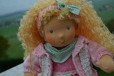 * . + . * + Engelsgleich * . + . * + von Hermis Puppenstube  - ♥ -  Puppenmachen ist Herzenssache - ♥ - Stoffpuppen zum Liebhaben gemacht ! auf DaWanda.com