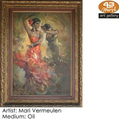 Oil on canvas by Mari Vermeulen Contact 43 on Marsh should you be interested in a work: 083 390 8000 Artist Painting, Oil Paintings, Oil On Canvas, Art Gallery, My Arts, Art Museum, Painted Canvas, Fine Art Gallery, Art Oil