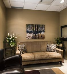 Comfort room - 2013 Veterinary Hospital of the Year: Allandale Veterinary Hospital, Ontario, Canada