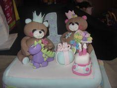 Forever Friends 1st birthday Cake, August 2013