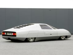 Mercedes-Benz C111-III Diesel Concept (1977) www.autonprojects.com #autonprojects