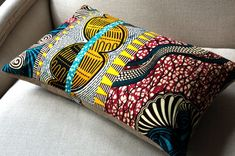 OOAK SisterBatik Cushion cover