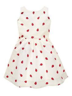 Kate Spade Spring 2015 Toddlers' Carolyn Dress, Ladybug Print Cream