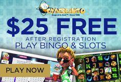 USA bingo sites, Australian bingo sites and bingo promotions for new bingo players. No deposit bingo and bingo for money. Free Casino Slot Games, Online Casino Games, Play Bingo Online, Bingo Bonus, Play Free Slots, Bingo Sites, Casino Bonus, Competition, Free Credit