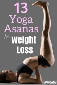 13 Yoga Asanas for Weight Loss Pin