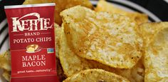 MUST FIND THESE for my boy,  kettle-brand-maple-bacon-potato-chips. Enough said.  Thank you Kettle Chips.