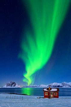 Les aurores boréales font toujours de magnifiques photos.
