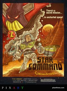 Exclusive New Artwork By Chris Raimo Reimainges Buzz Lightyear As A 70s Sci-Fi Action Star. Read more about the artist!