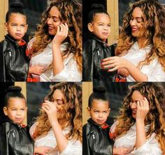 Bey and Baby Blue