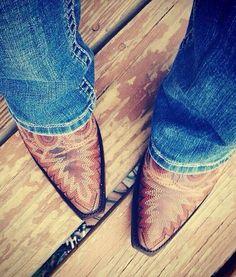 Western Snip Cowboy Boots
