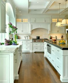 Kitchen Hardware for a Classic White Kitchen