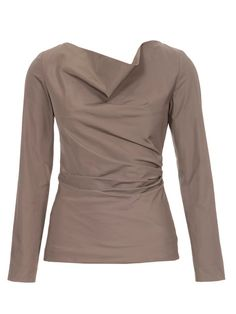 Gathered Cowl Top 10/2012 #118B – Sewing Patterns | BurdaStyle.com