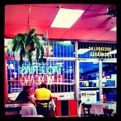 TAQUERIAS EL MEXICANO - 5th. Ave.+8th St. - LITTLE HAVANA- GOOD FOOD+QUAINT Mexican restaurant in Miami.