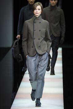 Giorgio Armani, Осень-зима 2015/2016, Menswear, Милан