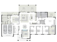 Floor plan - Like kitchen, butlers pantry, theatre, (swap family & meals), master as games etc