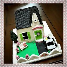 Hayalimdeki ev konseptli pasta  #hausecake #cake #kişiyeözelpasta #tasarımpasta #denizlibutikpasta #denizlipasta #butikpasta