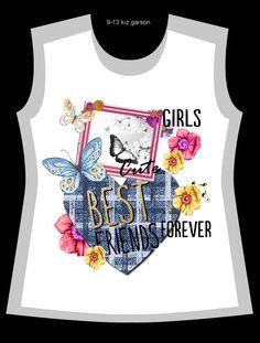 Girls Tees, Shirts For Girls, Girls Tennis Skirt, Sweat Shirt, Kids Graphics, Girl Trends, Night Dress For Women, Boys Pajamas, Design Girl