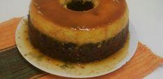 Massa do pudim: Derreta o açúcar e coloque um pouco de água quente Coloque essa calda numa forma de furo e reserve Bata no liquidificador o leite condensado, o leite e os ovos Coloque na forma já com a calda e reserve Massa do bolo: Bata os ovos, a