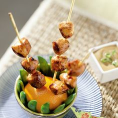 Chicken Satay- my whole gang LOVED this dinner