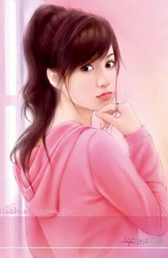 64 Ideas For Chinese Art Girl Asian Beauty Anime Beautiful Fantasy Art, Beautiful Anime Girl, Lovely Girl Image, Girls Image, Splash Art, Art Chinois, Cute Girl Drawing, Cute Cartoon Girl, Cute Girl Wallpaper