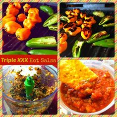 Triple XXX Hot Salsa Recipe - super healthy!