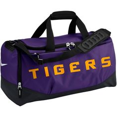 LSU Tigers Nike Medium Training Duffle Bag - Purple - $45.99