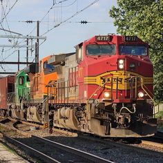 CSX crude oil train K138 at West Trenton NJ last evening with a wild consist! - Check out Trainiac Productions videos via the link in the bio! - #BNSF #Warbonnet #Oiltrain #crudeoil #Dash9 #GE #CITX #SD40 #trentonline #CSX #Freight #Railroad #Train #Railfan #Railfanning #NewJersey #RailfanNation #Railfans_of_instagram #trains_worldwide #daily_crossing #trainphotography #end_of_track #railways_of_our_world #train_chasers #CPTRENT #WestTrenton #trentonsub #csxt #freighttrain #csxt #freight by…