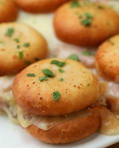 Ham & Cheese Pull-Apart Sandwiches