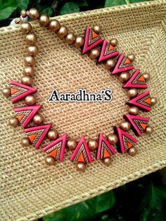 #terracottajewelry #terracottanecklace #handmade #ecofriendly #handmade #clayjewelry #southjewelry