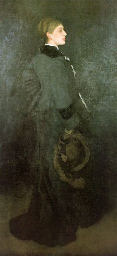 Arrangement in Brown and Black : Miss Rosa Corder « Reproduction Oil Painting James Abbott Mcneill Whistler, Reproduction, Art For Art Sake, Love Painting, American Artists, Art Museum, Art History, Black And Brown, Modern Art