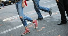 http://chicerman.com  billy-george:  Chucks are one of my all time favourite shoes  Photo by George Elder  #streetstyleformen