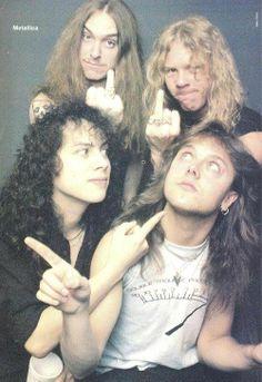 Metallica  Cliff Burton !