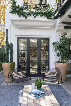 Screened Porch On Sunken Patio . Screened Porch On Sunken Patio . Deck and Patio Bo Patio Diy, Outdoor Patio Designs, Backyard Patio, Outdoor Spaces, Outdoor Living, Patio Table, Patio Ideas, Garden Table, Wood Table