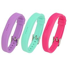 Fitbit Flex 2 Buckle Bracelet Newest Replacement Wristband With Watch Buckle Design for Fitbit Flex 2 No Tracker 3Pcs 003 6  85 Inches wrist *** Be sure to check out this awesome product.