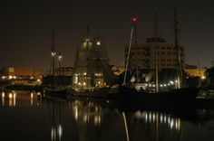Waterfront evening picture during the tall ships festival.  #myhometownpins